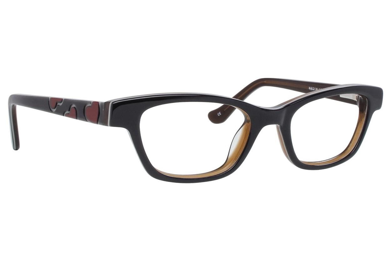 Kensie Girl Dancing Black Eyeglasses