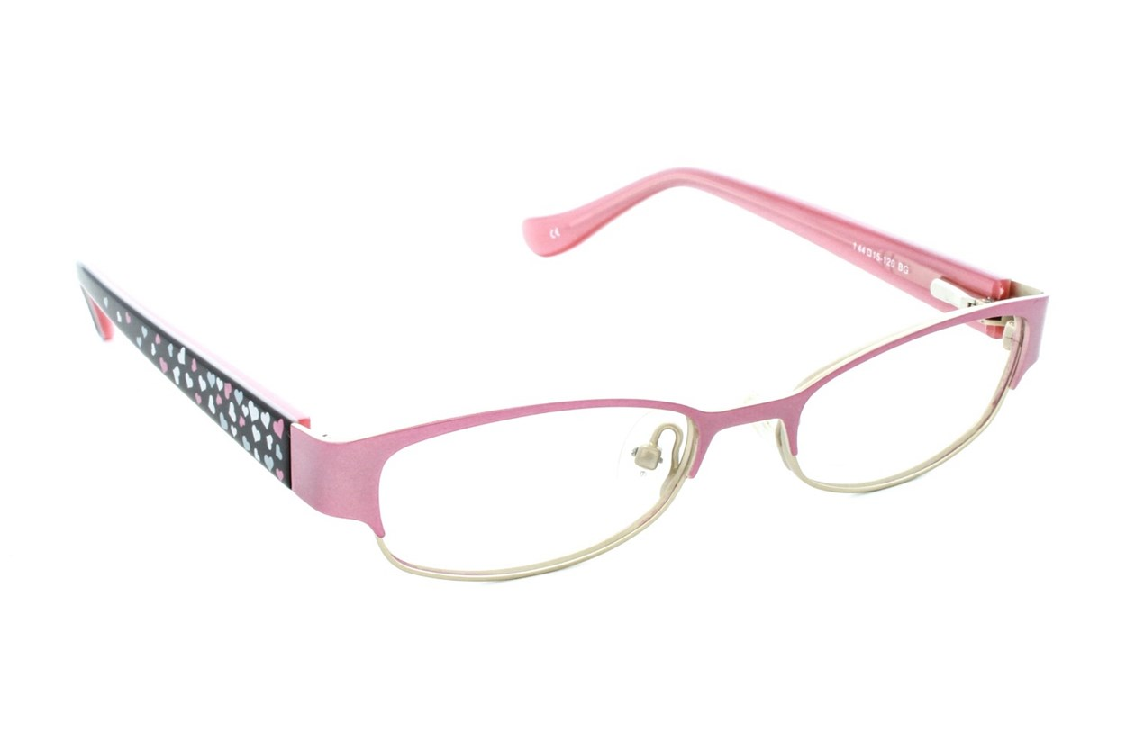 Kensie Girl Darling Pink Eyeglasses