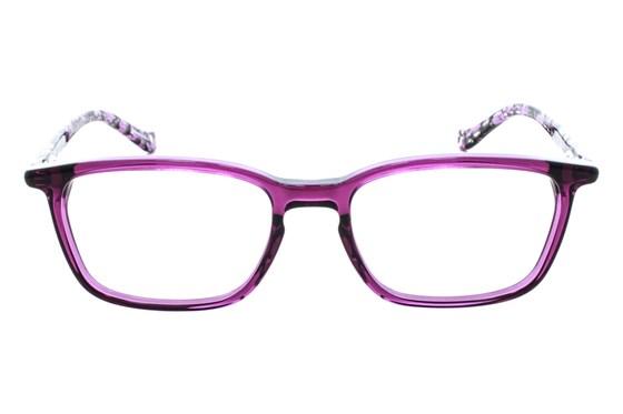 Kensie Effortless Purple Eyeglasses