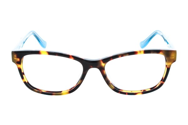 Kensie Girl Flower Eyeglasses - Tortoise