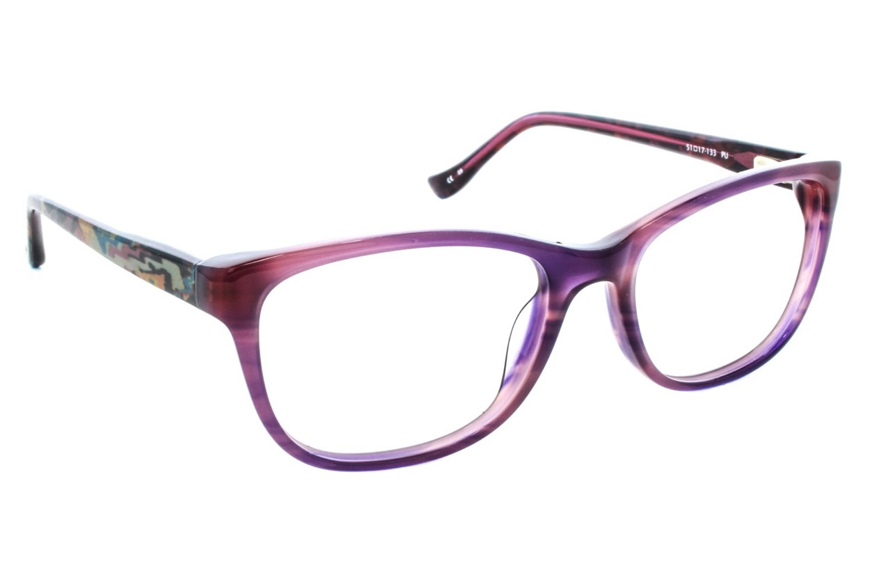Kensie Foxy Purple Eyeglasses
