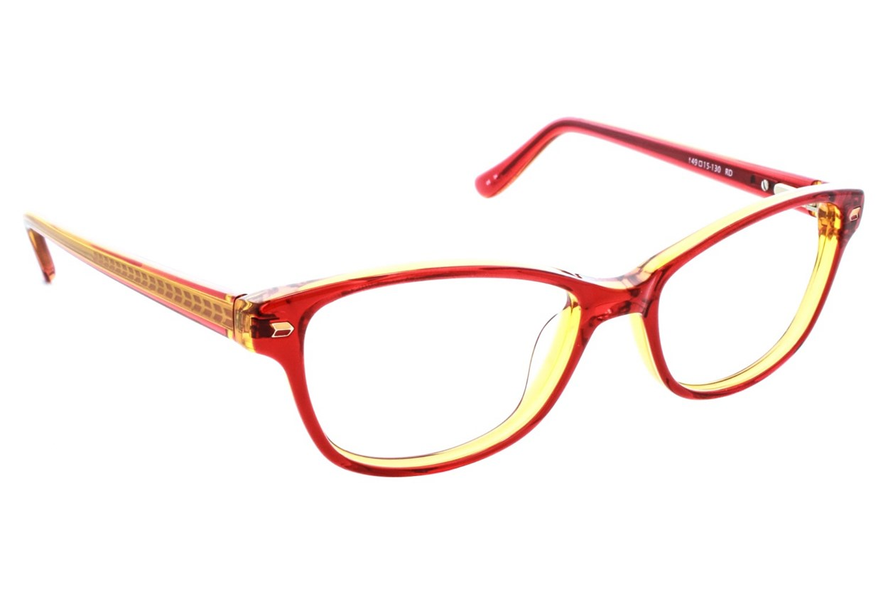 Kensie Kiss Eyeglasses - Red