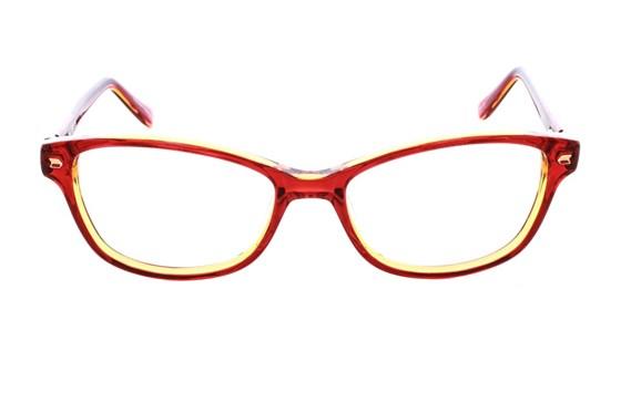 Kensie Kiss Red Eyeglasses