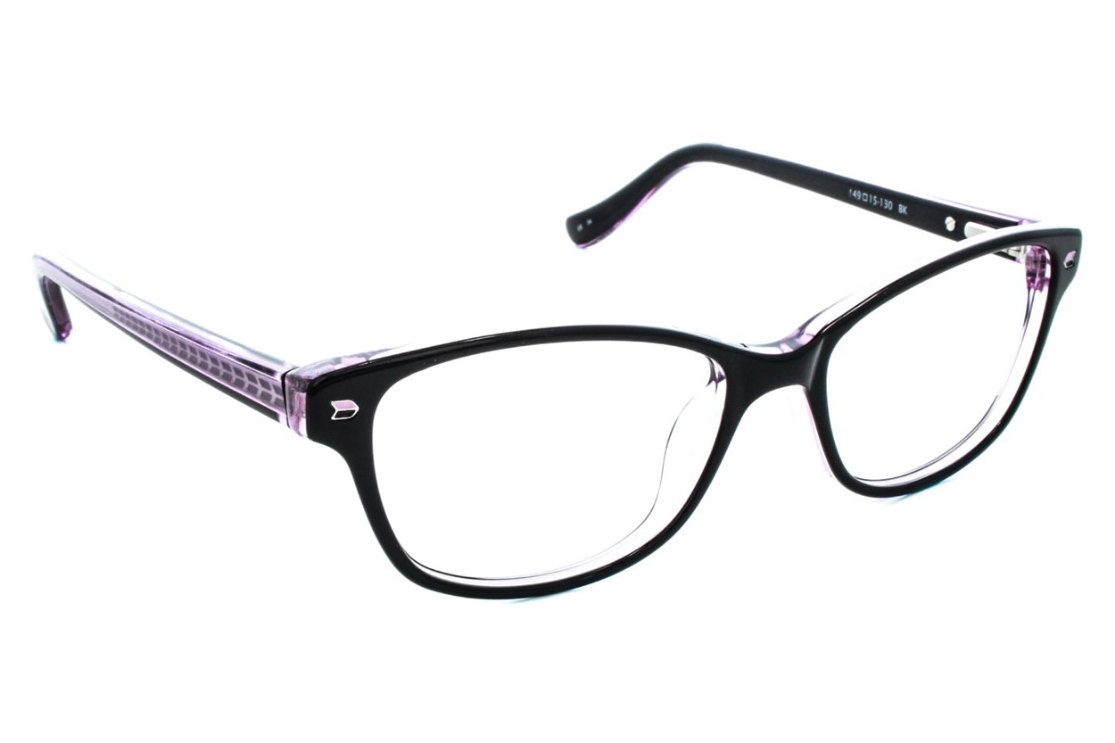 Kensie Kiss Black Eyeglasses