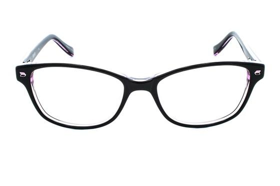 Kensie Kiss Black Eyeglasses