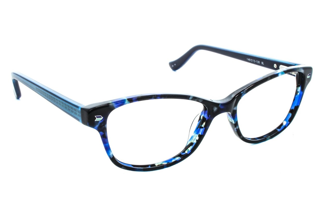 Kensie Kiss Blue Eyeglasses