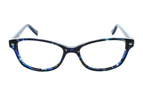 Kensie Kiss Blue Eyeglasses