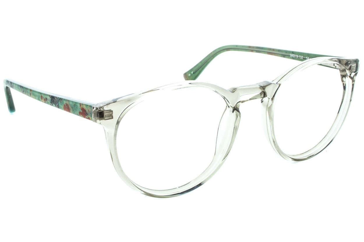 Kensie Retro Eyeglasses - Tan
