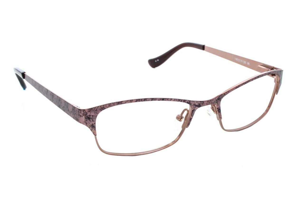 Kensie Spring Brown Eyeglasses
