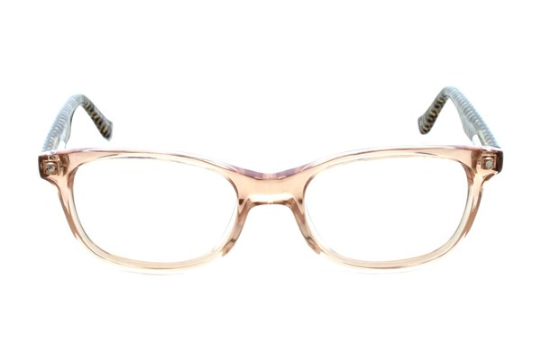 Kensie Girl Stripes Eyeglasses - Orange