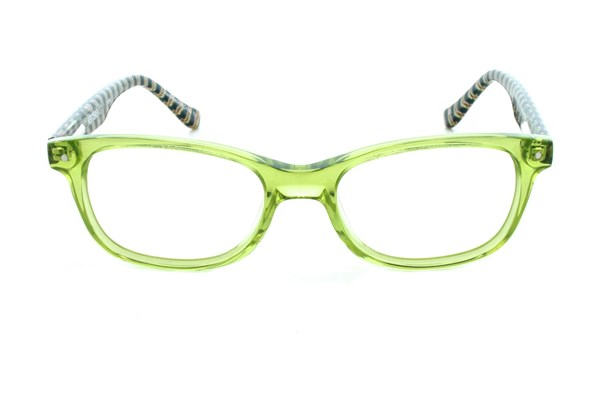 Kensie Girl Stripes Green Eyeglasses