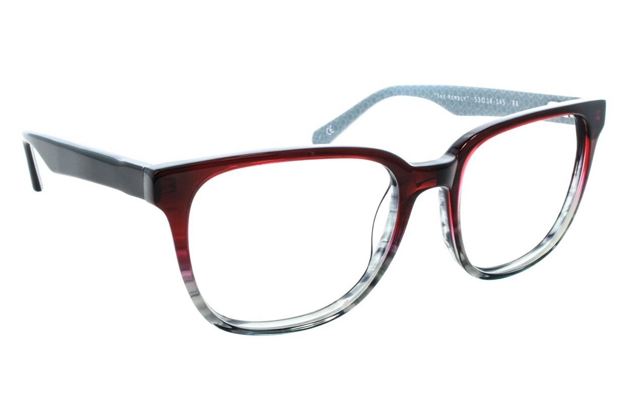 Original Penguin The Wembly Eyeglasses - Red