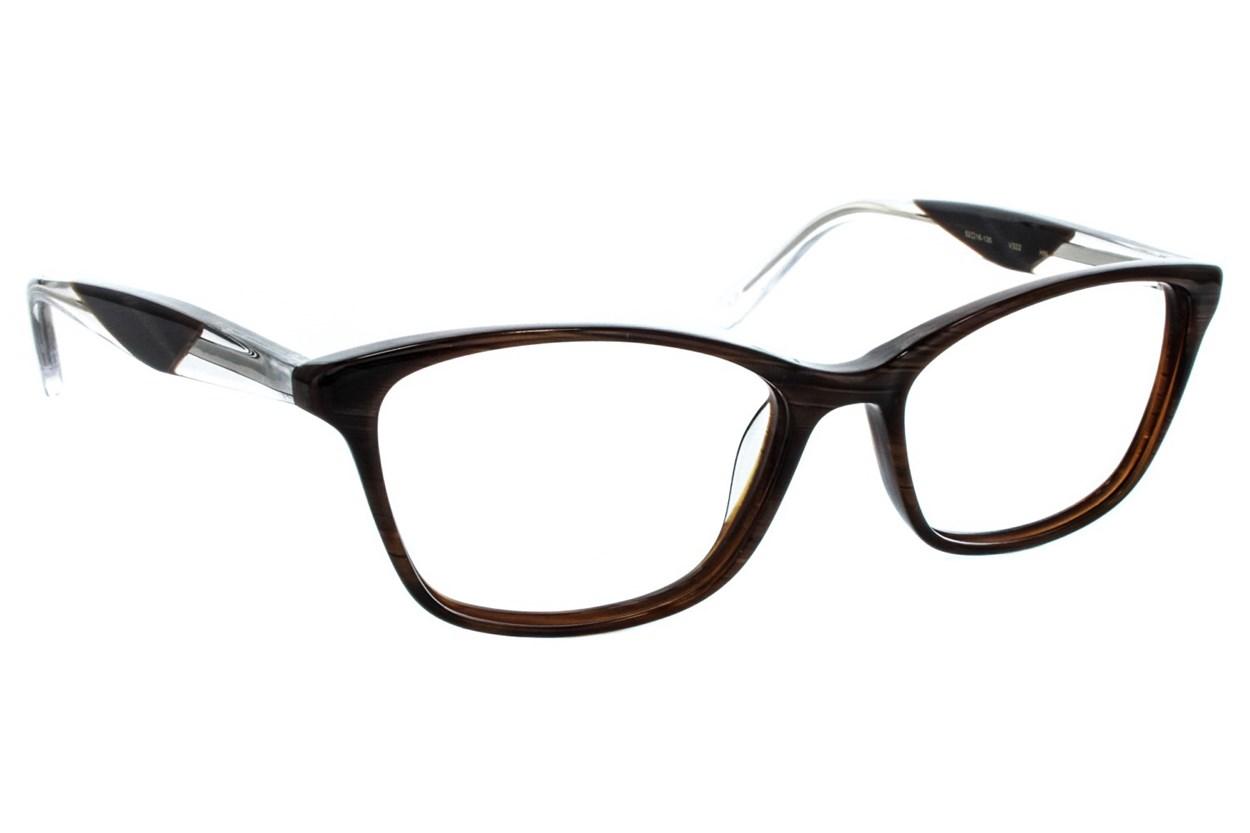 Vera Wang V322 Brown Eyeglasses