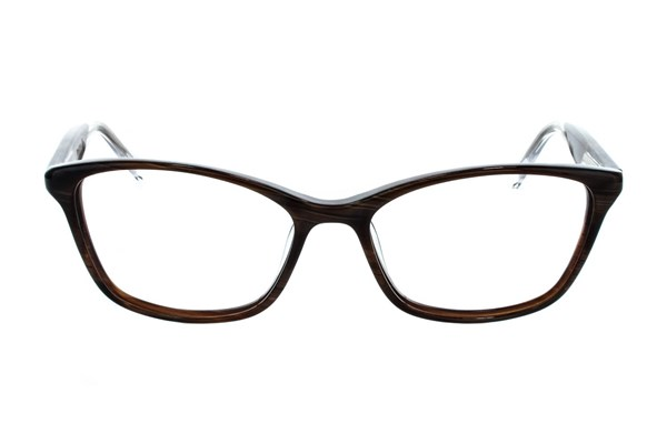 Vera Wang V322 Brown Eyeglasses