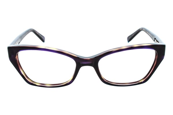 Vera Wang V323 Eyeglasses - Purple