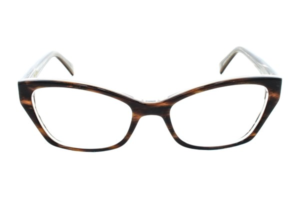 Vera Wang V323 Brown Eyeglasses