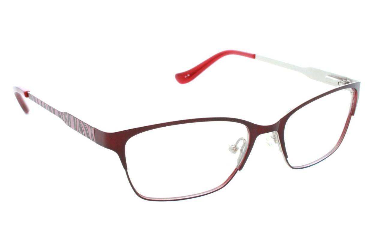 Kensie Wild Red Eyeglasses