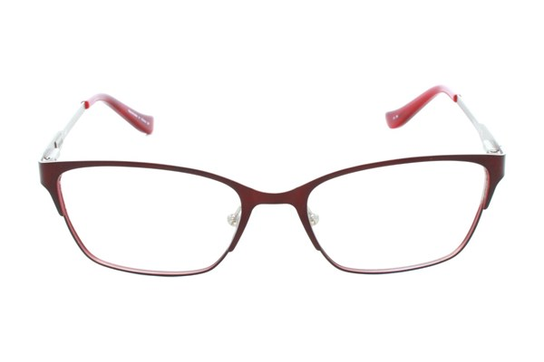 Kensie Wild Eyeglasses - Red