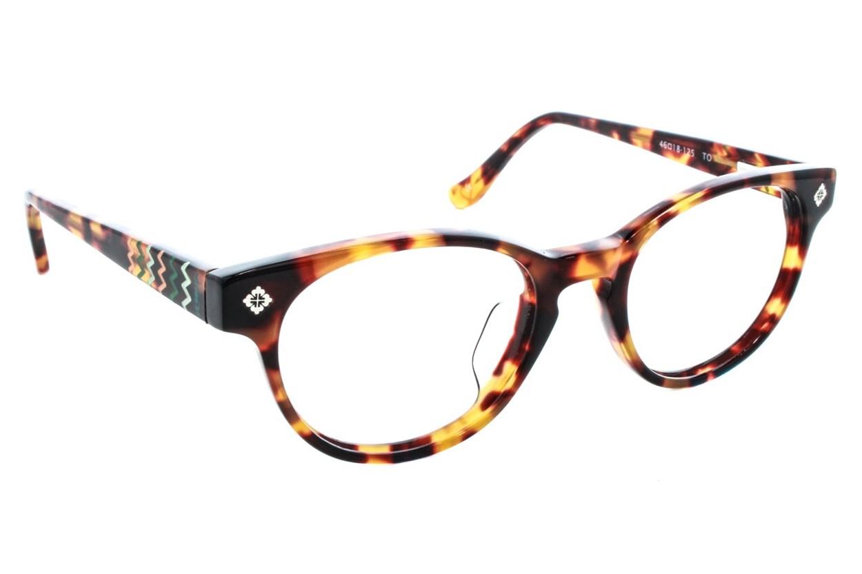Kensie Girl Zany Tortoise Eyeglasses