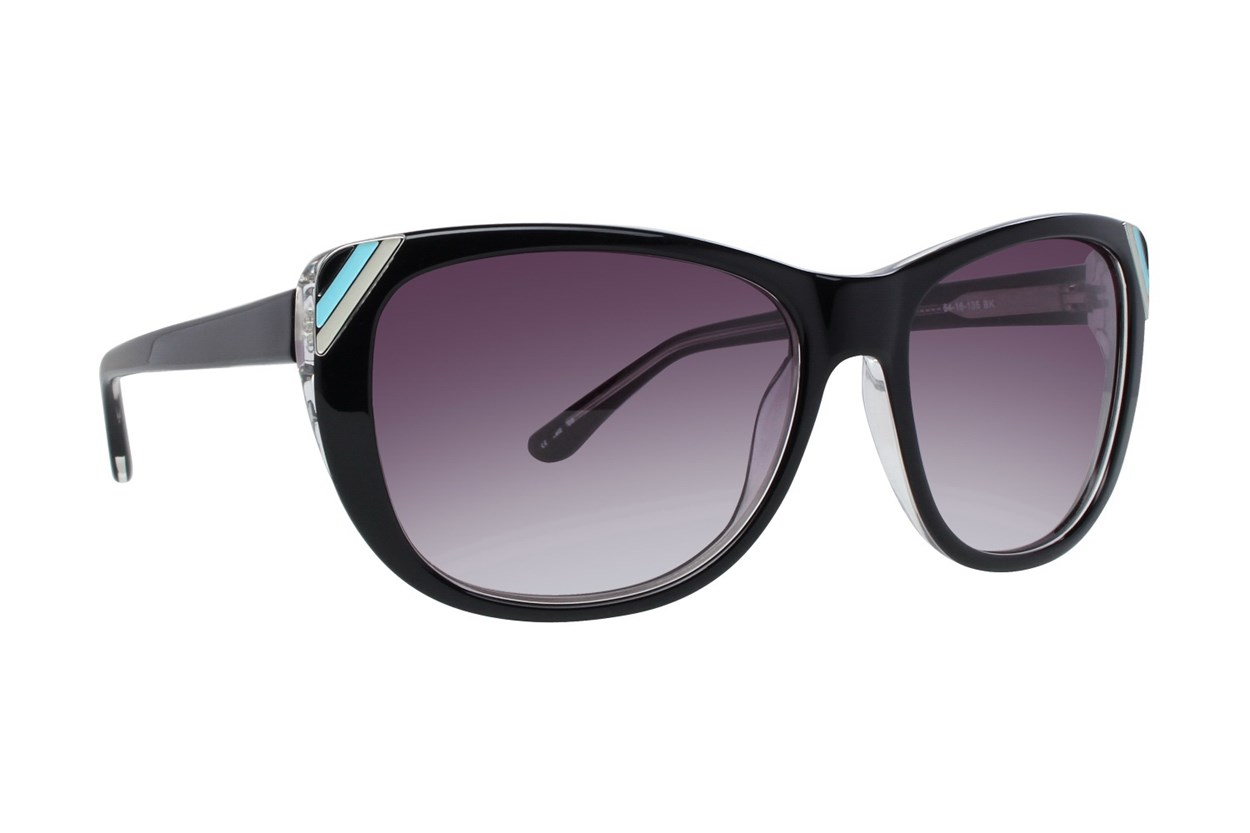 Kensie On The Edge Black Sunglasses