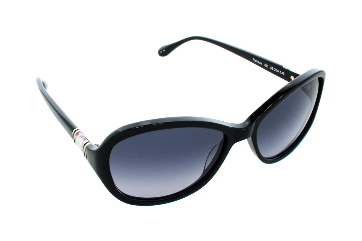 Lilly Pulitzer Ramsay Black Sunglasses