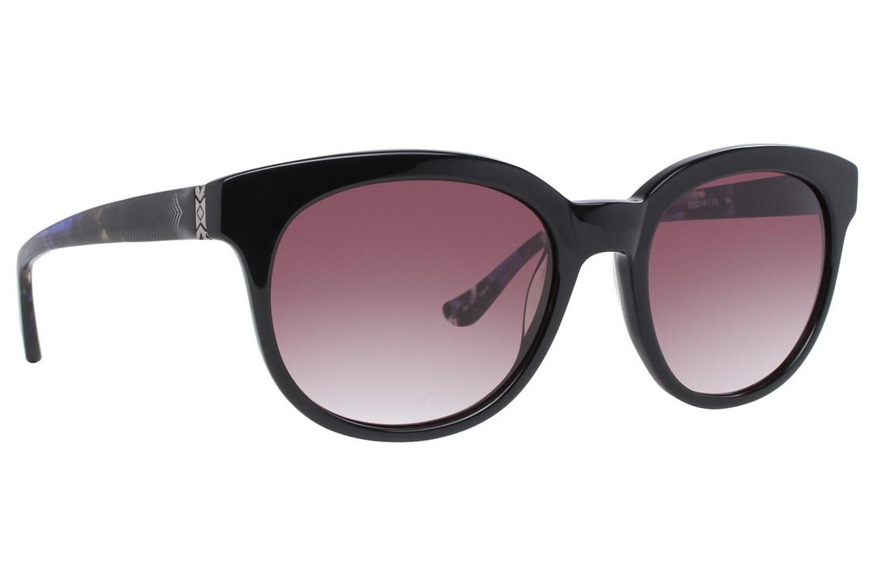 Kensie See You Later Black Sunglasses