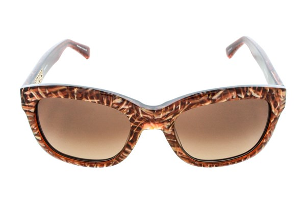 Kensie Shatter Me Brown Sunglasses