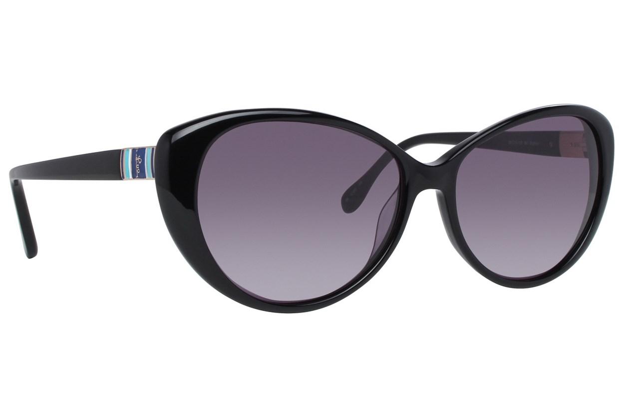 Lilly Pulitzer Stanton Black Sunglasses