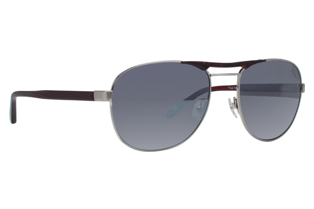 Original Penguin The Kent Silver Sunglasses