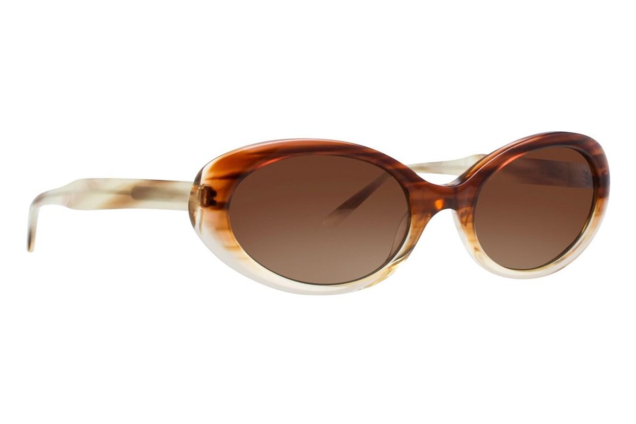 Vera Wang V409 Brown Sunglasses