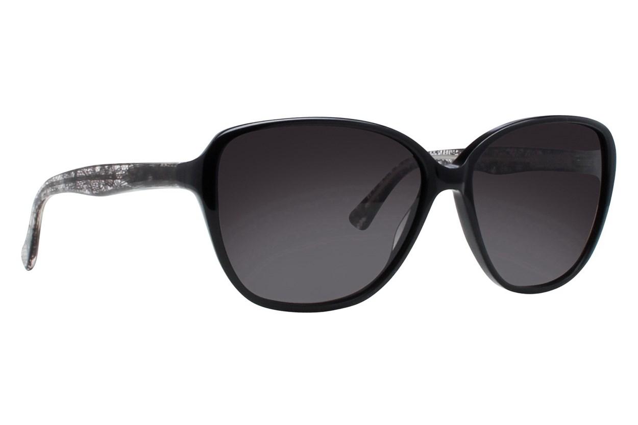 Vera Wang V411 Black Sunglasses