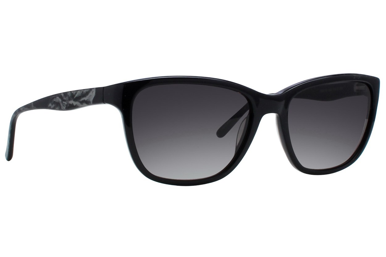 Vera Wang V415 Black Sunglasses