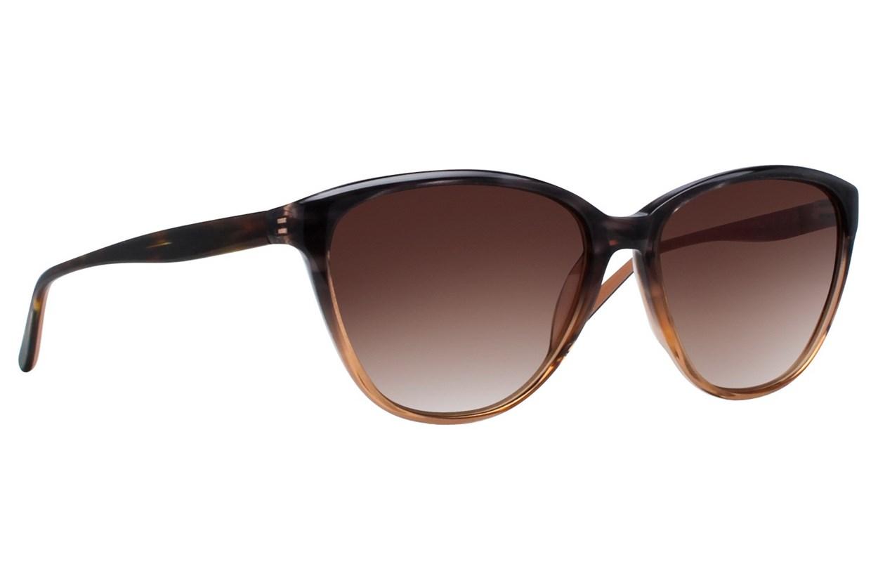 Vera Wang V417 Brown Sunglasses