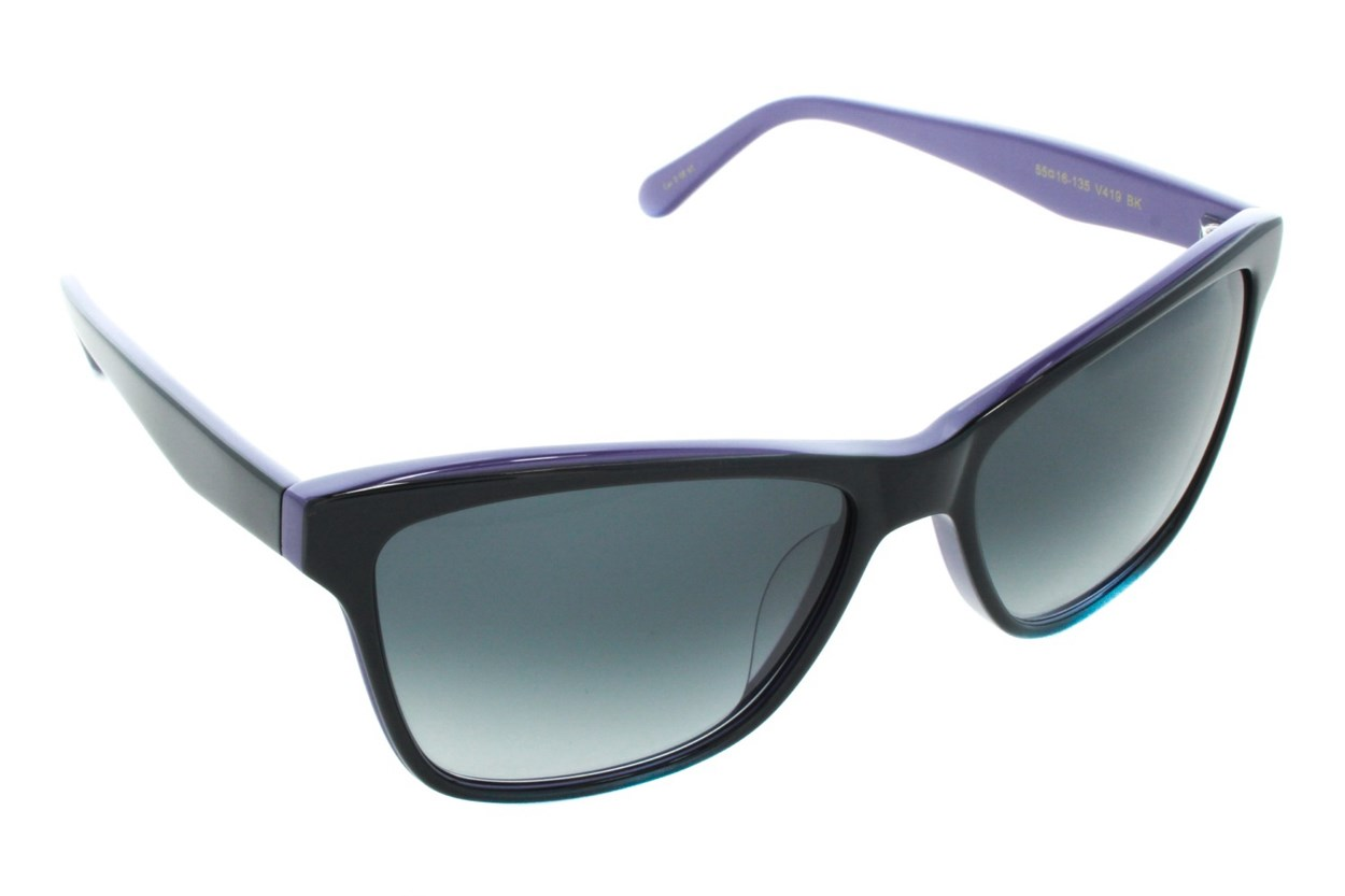 Vera Wang V419 Sunglasses - Black
