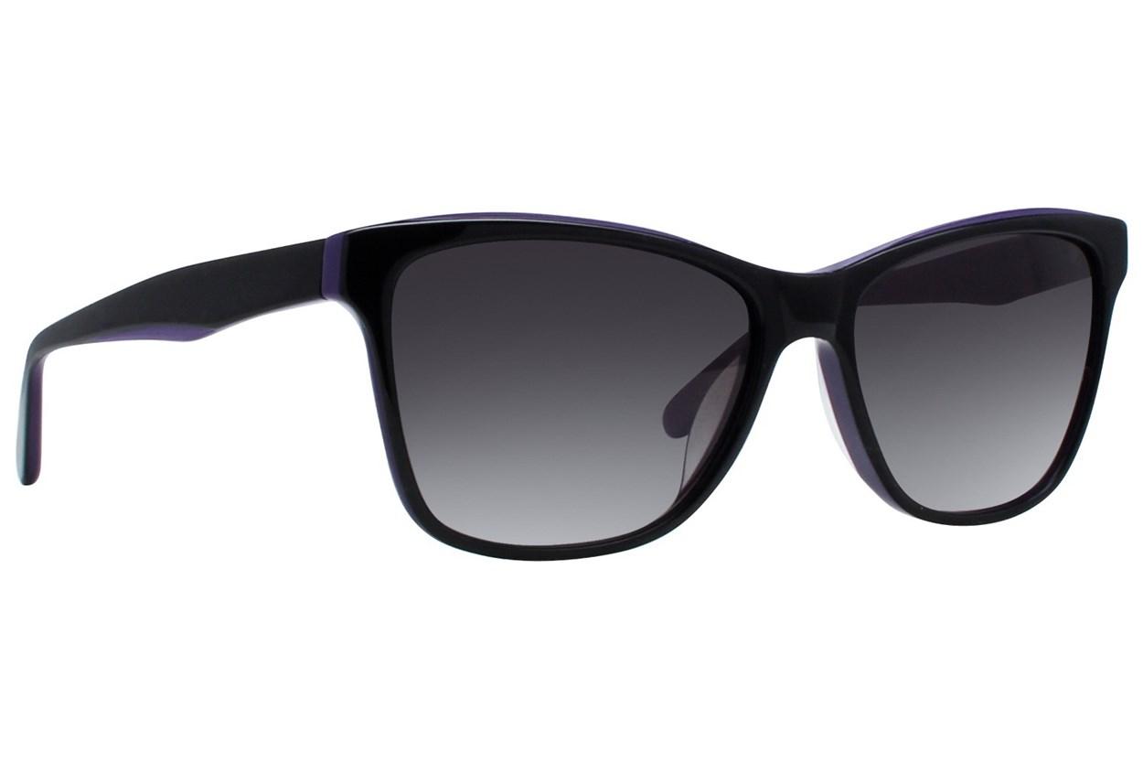 Vera Wang V419 Black Sunglasses