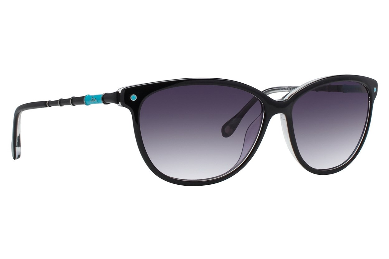 Lilly Pulitzer Worth Black Sunglasses