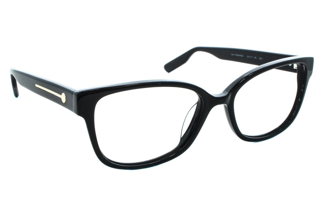 Jason Wu Fernanda Black Eyeglasses