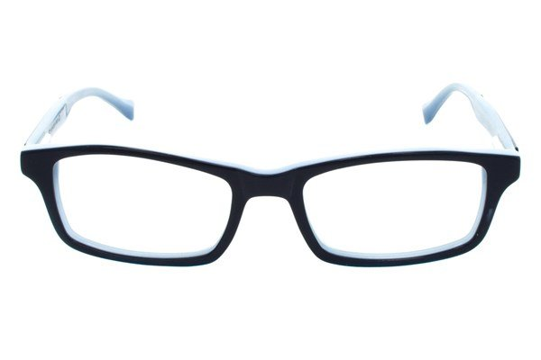 Lucky Double Stitch Small Eyeglasses - Blue