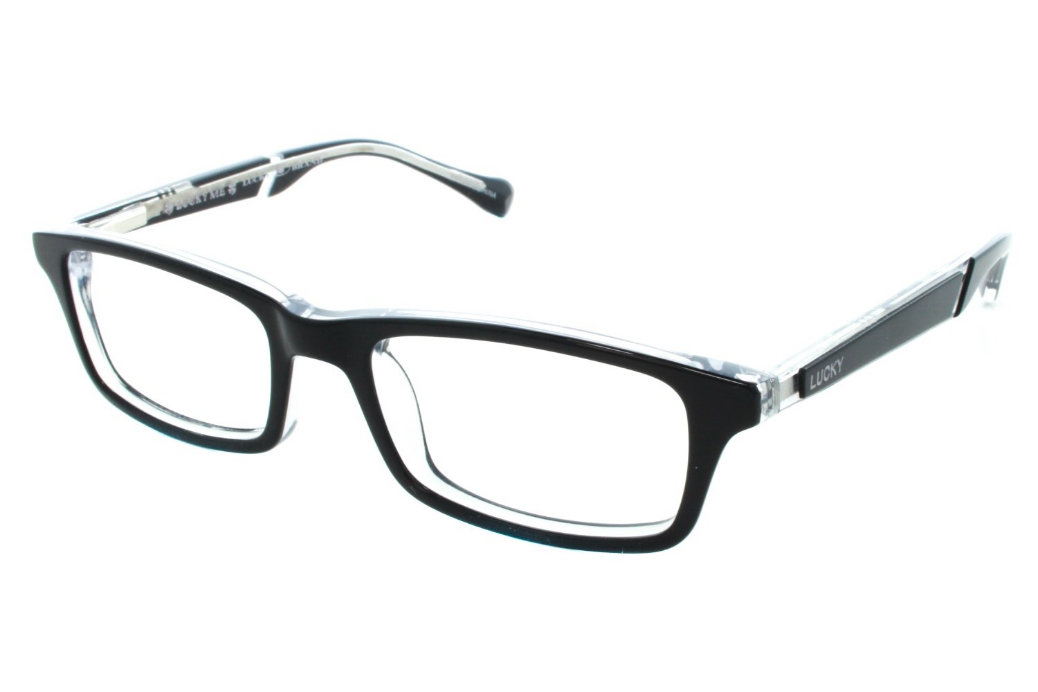 Lucky Double Stitch Small Prescription Eyeglasses Frames