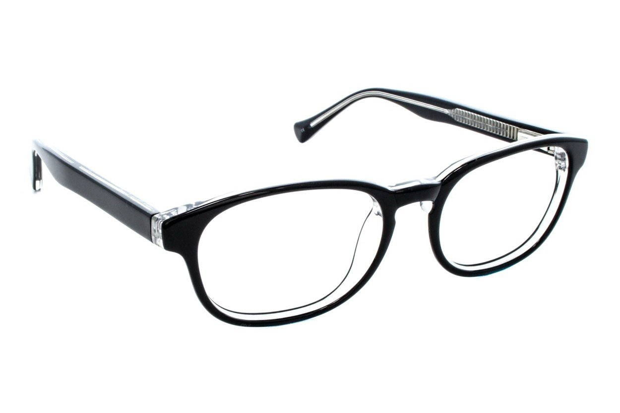 Lucky Dynamo Small Black Eyeglasses