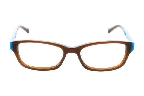 Lucky Favorite Small Brown Eyeglasses