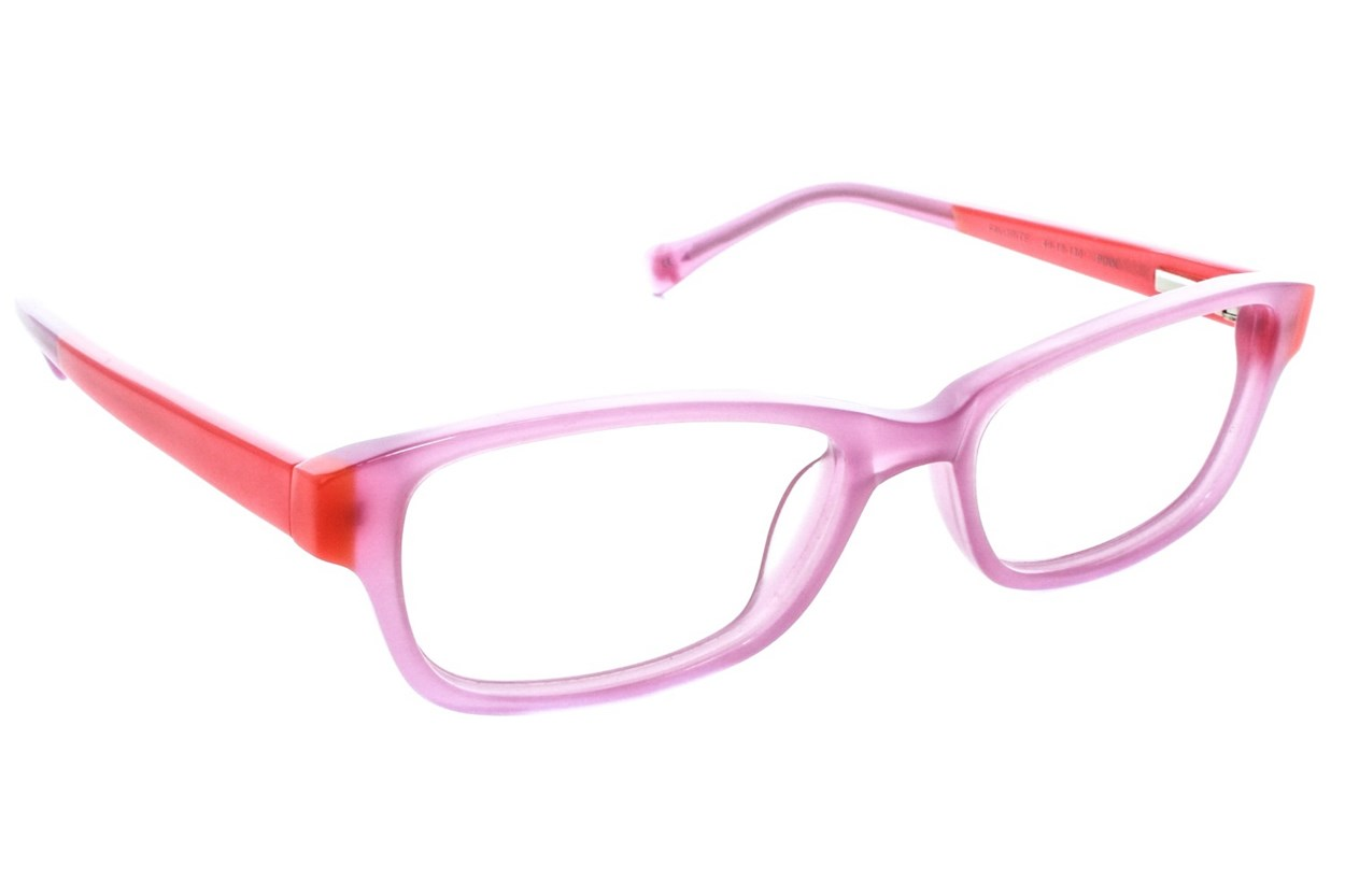 Lucky Favorite Small Pink Eyeglasses