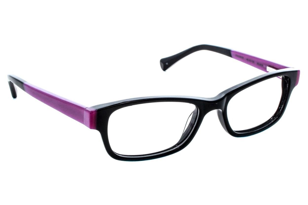 Lucky Favorite Small Black Eyeglasses