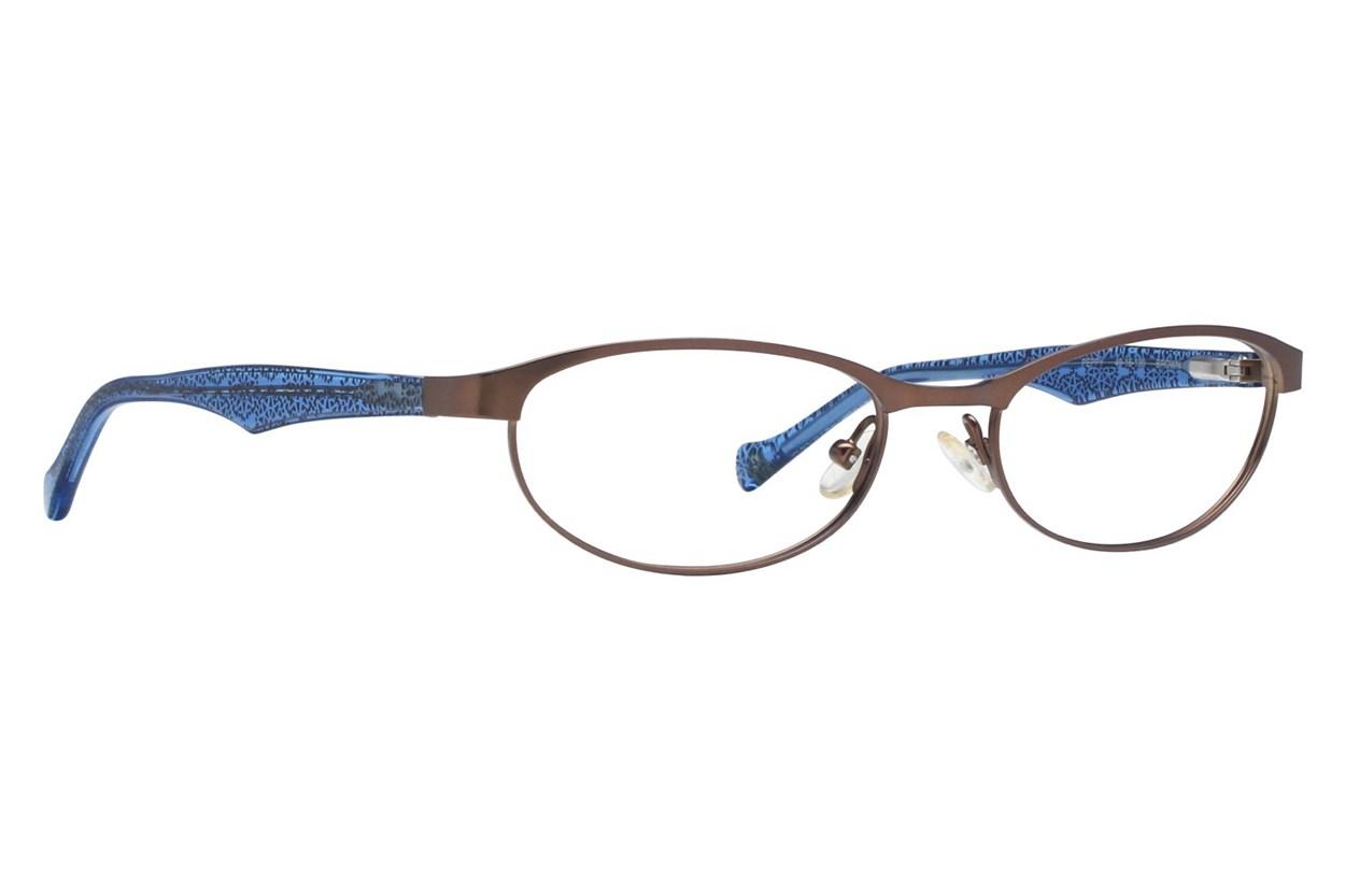Lucky Peppy Brown Eyeglasses