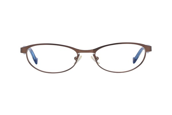 Lucky Peppy Eyeglasses - Brown