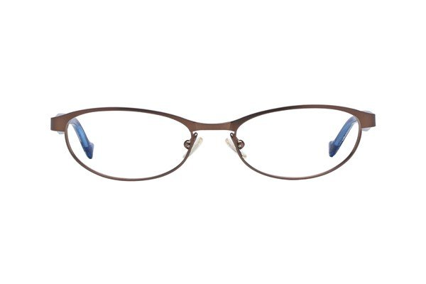 Lucky Peppy Brown Eyeglasses