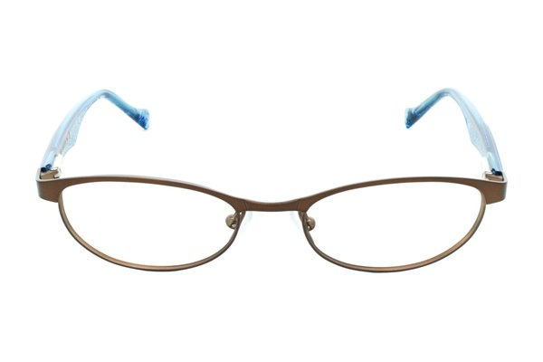 Lucky Peppy Small Eyeglasses - Brown