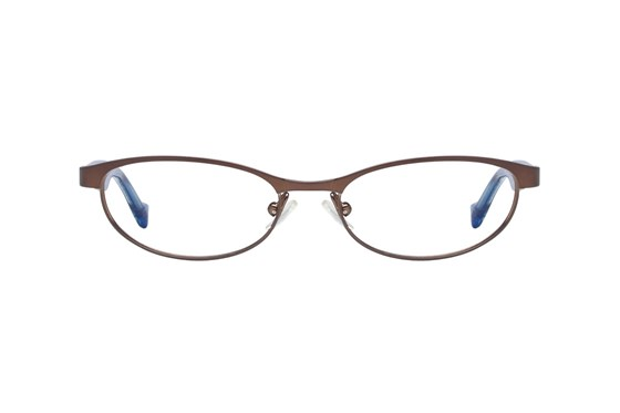 Lucky Peppy Small Brown Eyeglasses