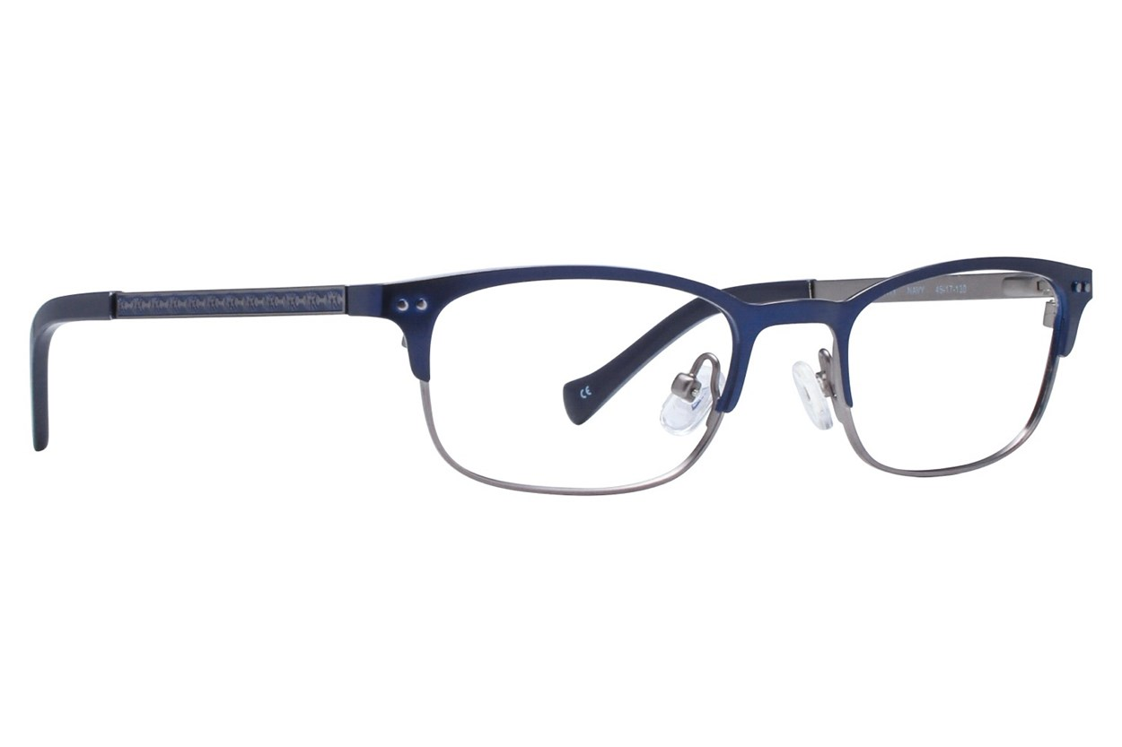 Lucky Smarty Small Blue Eyeglasses