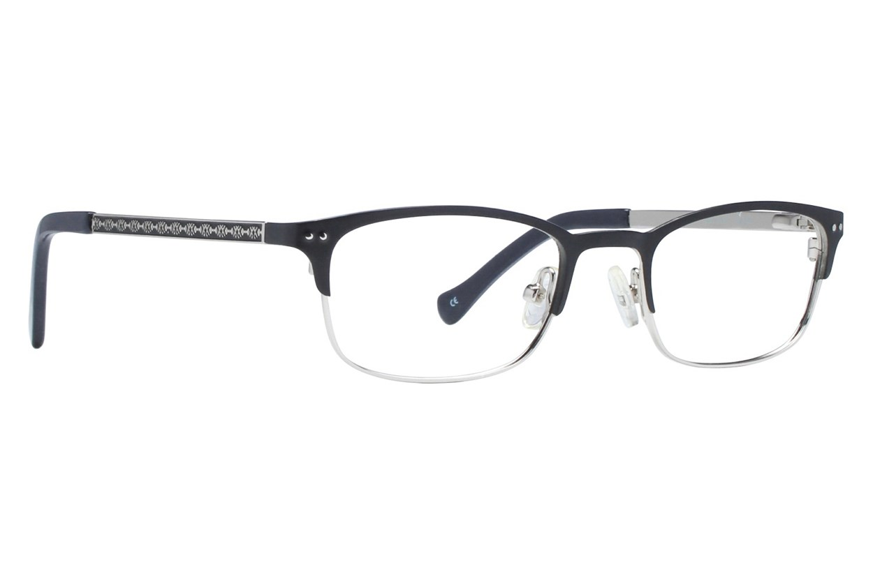 Lucky Smarty Small Black Eyeglasses